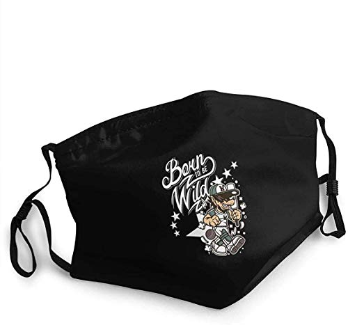 Dust Mouth Cover Reusable Mouth Cover Cricket Baseball Wolf Softball Bat Dust-Proof Sports Face Cover Bandana for Outdoor