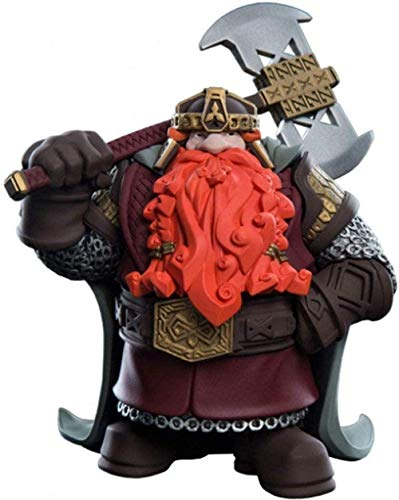 HJB The Lord of the Rings: Gimli Mini Epics Vinyl Statue make up collectible figurines from films