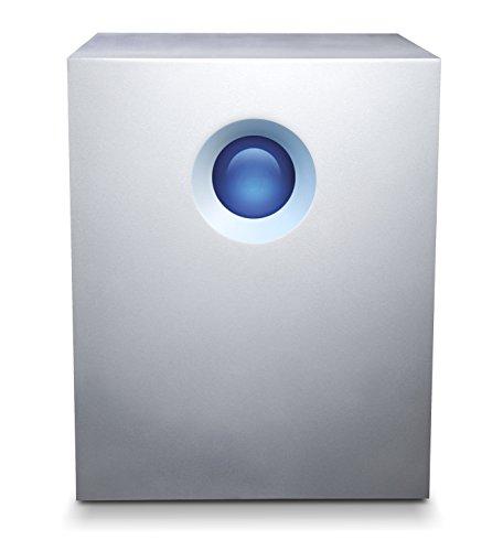 LaCie 5big Thunderbolt 2, 20 TB externe Festplatte, 3.5 Zoll, Thunderbolt 2, für Mac & PC, Modellnr.: STFC20000400
