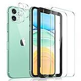 Yocktec Schutzfolie für iPhone 11 Panzerglas+Kamera Panzerglas [2+3Stück] mit...