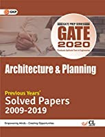 GATE 2020 - Previous Years' Solved Papers (2009-2019) - Architecture & Planning