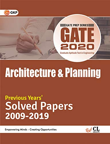 GATE Architecture & Planning Previous Years Solved Papers By GKP