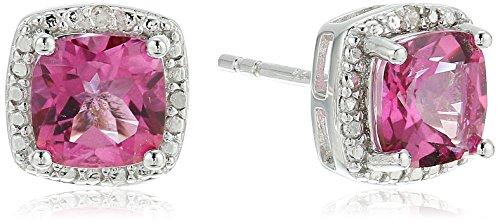 Women's Fashion Diamond Accented Earrings