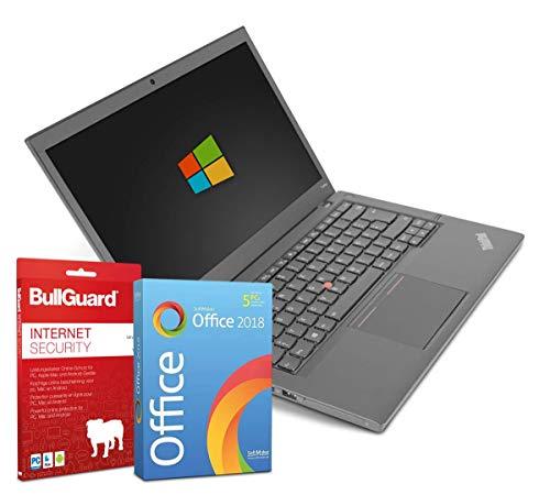 14 zoll | Lenovo ThinkPad T440p | Intel Core i5-4200M@ 2,5GHz | 8GB | 180GB SSD | DVD-Brenner | Windows 10 Pro | BullGuard | SoftMaker Office (Generalüberholt)