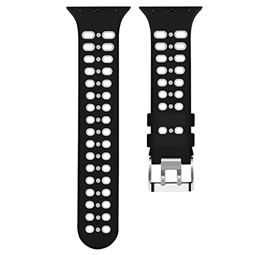 Correa de silicona para apple watch band 44 mm Iwatch series 5 4 3 2 1 accesorios 38MM 40MM 42MM bucle de cinturón colores Correa de pulsera