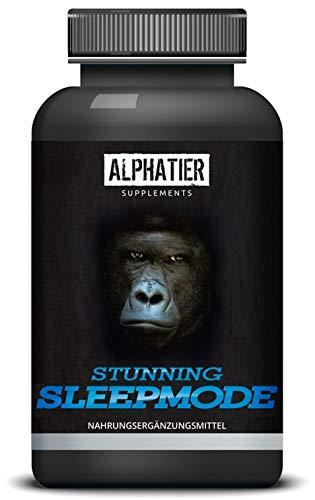 SLAAPMODE - 120 capsules met GABA, L-Glycine, L-Tryptofaan, Valeriaan, L-Theanine & Hop - natuurlijke ingrediënten - alternatief voor slaappillen/Slaaptablet