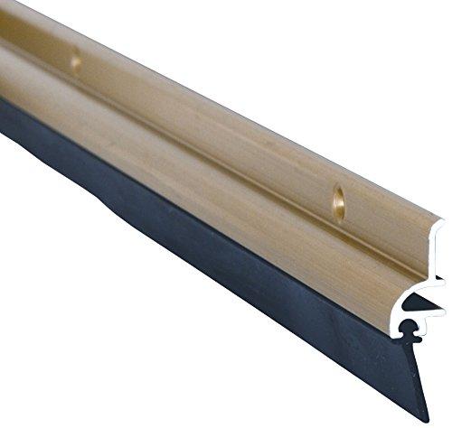 Stormguard 03SR0210914G Türdichtung mit Gummi-Unterseite, mit Gold-Effekt, 914 mm