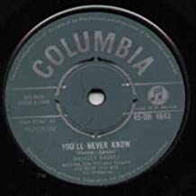 Youll Never Know - Shirley Bassey 7