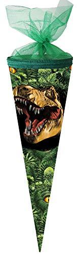 Nestler Schultüte Dino Dschungel Zuckertüte Einschulung Schulanfang Schule: Größe: 50 cm rund