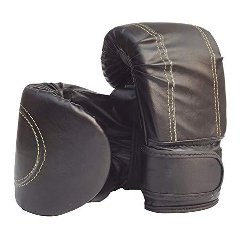 Verlike Boxhandschuhe für Männer und Frauen, Training Pro Punching Heavy Bag Mitts UFC MMA Muay Thai Sparring Kickboxen Handschuhe schwarz
