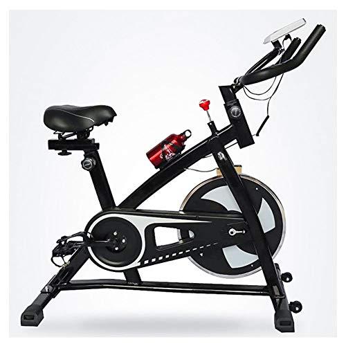 ALGWXQ Bicicletas Resistencia Nfinite Vuelta Bicicleta de Transmisión del Cinturón Ejercicios con El Monitor LCD Corazón Moniter Inicio Cardio Entrenamiento del Entrenamiento de La Bici