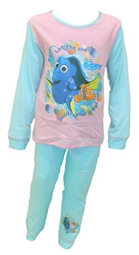 Disney Findet Dory Shells Mädchen Schlafanzug Größen von 18 bis 24 Monate