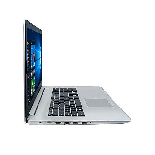 "Dell Inspiron 17 5000 Series 5770 17.3"" Full HD Laptop - 8th Gen Intel Core i7-8550U Processor up to 4.0 GHz, 16GB Memory, 256GB SSD + 2TB HDD, 4GB AMD Radeon 530 Graphics, Windows 10 Pro, Silver"