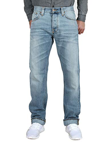 Nudie Jeans Herren Average Joe Organic Summer Bio W36/L34
