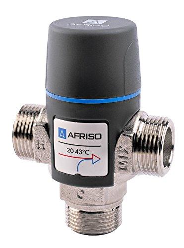 AFRISO Qualitäts einstellbare Wasserthermostatmischventil 35-60c Mischer 1