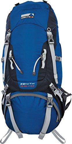 High Peak Zenith Sac à Dos de Trekking Bleu/Gris Foncé 55+10 L