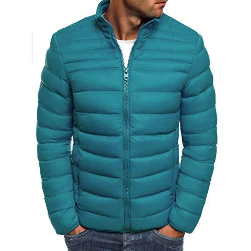 serliy😛Herren Daunenjacke,Ski- und Snowboard, Winterjacke, Wasser- und windabweisend, leicht, Schneefang, Reißverschluss-Taschen,Kinnschutz am Reißverschluss