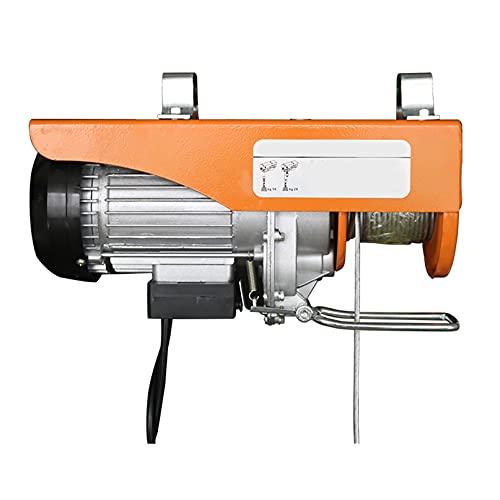 JCX 510w Polipastos Electricos, Elevación Cabestrante de Cable Eléctrico de 440 LB...