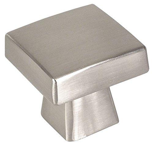 10 Pack - Cosmas 5233SN Satin Nickel Contemporary Square Cabinet Knob