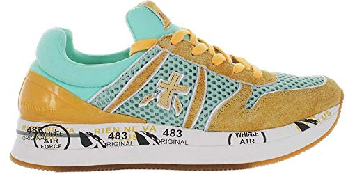 PREMIATA Sneaker Liz Damen Gelb/Minze VAR3637 (37)