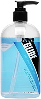 Power Glide Water Based Personal Lubricant, 16.5 Ounce