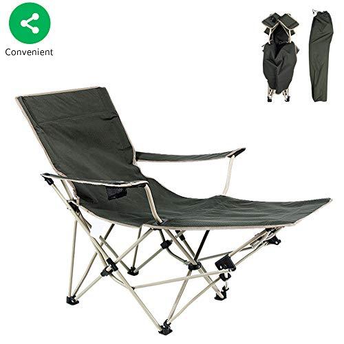 BSFYUK Multifunktionale Klappgartenstuhl, Liegestuhl Liegestuhl zusammenklappen Stuhl Klappbett Lehnstuhl Zwei in einem Campingstuhl standhalten kann 220 Pfund