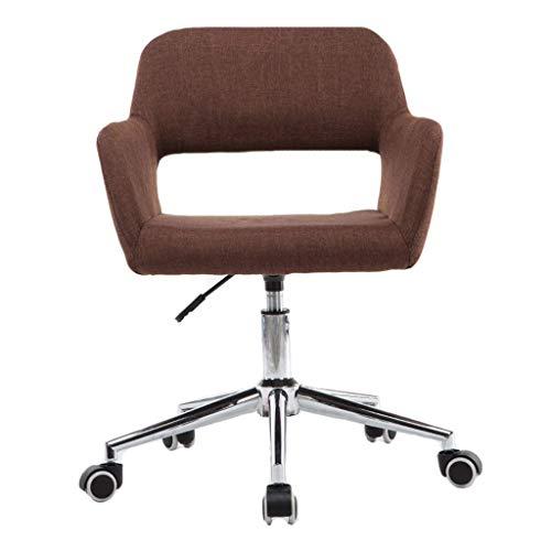 Furniture stool/comfortabele bureaustoel, stoelen voor Mid Back Swivel Chair Desk lendensteun, ergonomische bureaustoel, flexibel draaibaar, 130 kg draagkracht