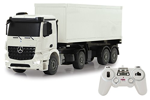 Jamara- LKW Mercedes Benz Coche, Color Blanco (405148)