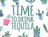 TISAGUER 5D Diamante Pintura por Número Kit,Ilustración de de cotización de tequila con fondo de cactus,Bricolaje Diamond Painting kit completo Bordado Decoración del hogar