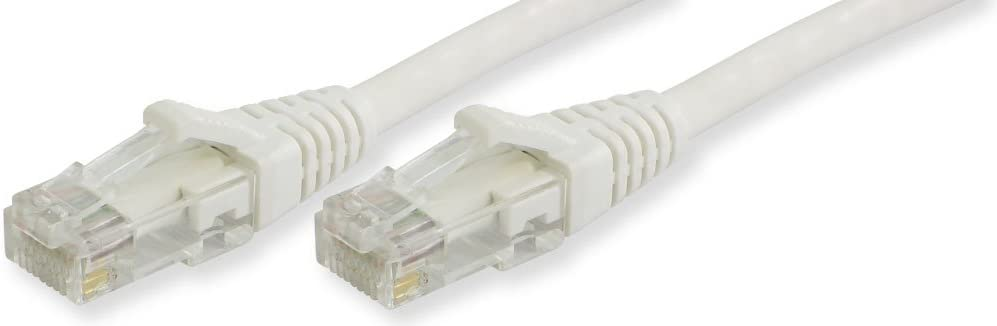 Lynn Electronics CAT6-05-WHB Omaha Mall New item Booted 5-Feet Patch Cable Ethernet