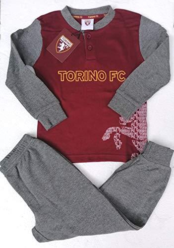 Torino F.C. Pigiama Bambino Bimbo Prodotto Ufficiale (3 Anni, Bordeaux)