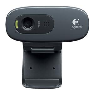 Logitech C270 Webcam – Black – USB 2.0