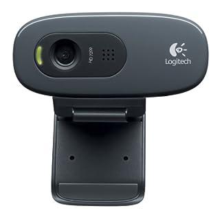 Logitech C270 Webcam HD, 720p/30fps, Video-Llamadaso HD Amplio Campo Visual, Corrección de Iluminación, Micrófono Reductor de Ruido, PC/Mac/Portátil/Macbook/Tablet (B003PAOAWG)   Amazon price tracker / tracking, Amazon price history charts, Amazon price watches, Amazon price drop alerts