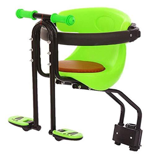 wangt Fiets-babystoel voor kinderen met rugleuning voetpedaal voor kinderen van 2 5-5 jaar oud