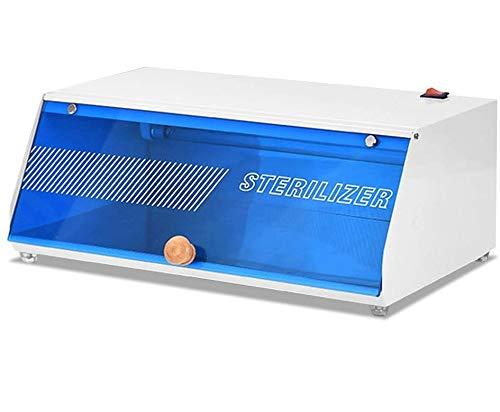 Sterilizzatore UV Professionale LED UV O3 Disinfezione Armadio Riscaldatore Attrezzatura sterilizzatore per forbici Asciugamano Trucco Spazzole Strumenti per unghie(EU)