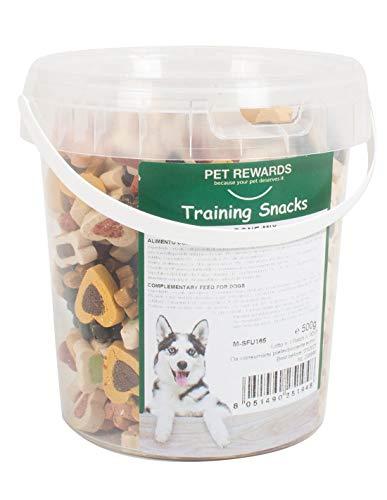 Snack per Cani Mix Training Snack Morbidi per Cani con forme miste 400g