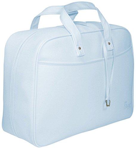Garessi M12-08, Bolso-maleta maternidad, Celeste