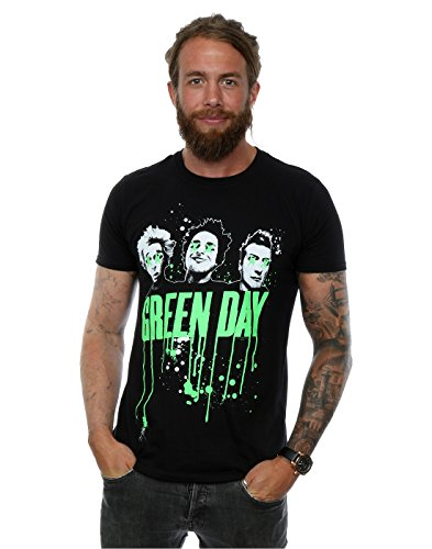 Green Day hombre Band Drip Camiseta