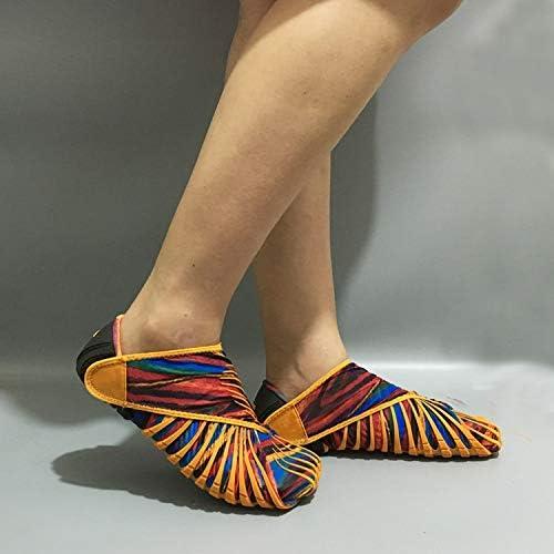 AMNY Vibram Furoshiki paniers enveloppés en Tissu Extensible, Chaussures de randonnée Chaussures de Sport pour Femmes, Poids Plume, Cinq Doigts, Course, Tennis, Chaussures emballées Pliables,G