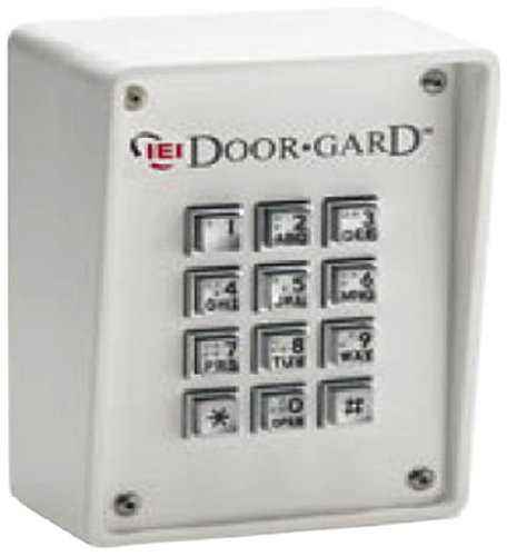 Linear 232R LLC Indoor/Outdoor Rugged Keypad, 10 to 30V DC, 5.25