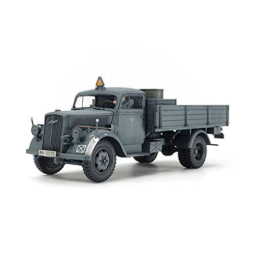 Dickie-Tamiya Miniaturas Militares - Alemán 3ton 4x2 camión de Carga - Escala 1/48 Kit Modelo