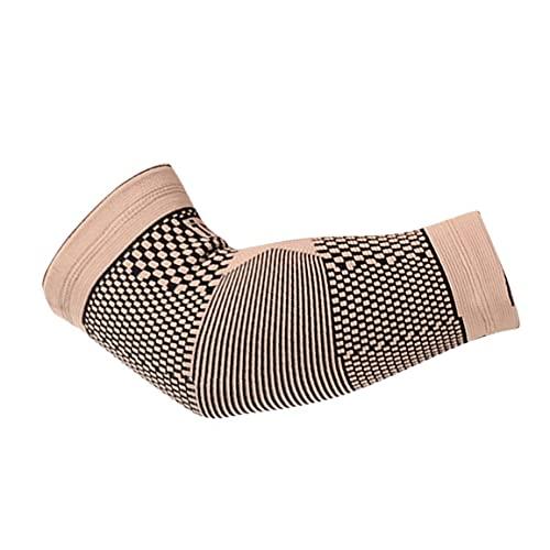 Cómodo brazo manga almohadillas de codo deporte codo protector deporte baloncesto ejercicio voleibol seguridad codo apoyo codo almohadillas