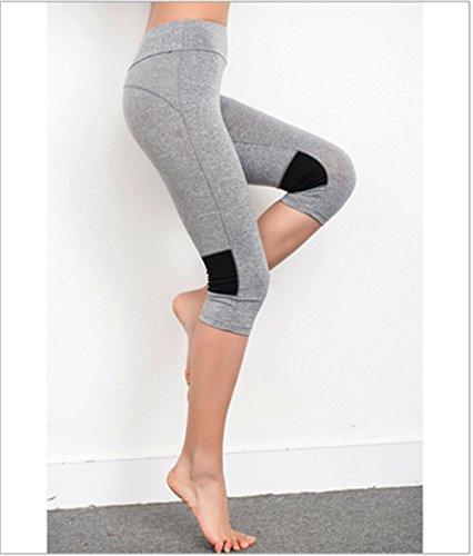 Donna Wellness Yoga Pantaloni sportivi Fitness Pantaloni Casual Pantaloni PILATES comodamente