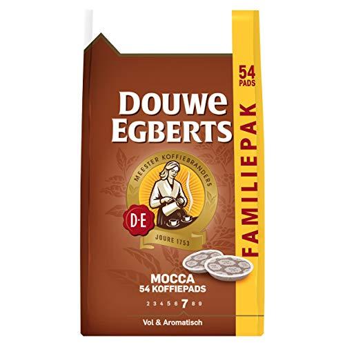 Douwe Egberts Mocca Koffiepads, 4 x 54 Pads