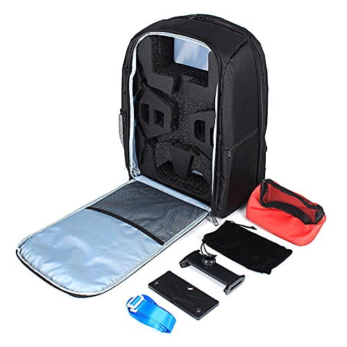 Fujida Portable Backpack Carrying Case for Parrot Bebop 2 Power FPV Drone
