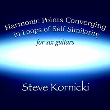 Harmonic Points Converging in Loops of Self Similarity