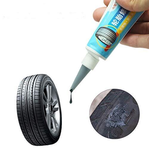 Stronrive 30ml Reifenreparatur Kleber Wasserfest Reifenkleber Alleskleber Gummi Reparatur Set Reifenflickzeug Gummikleber für Auto Motorrad Fahrrad