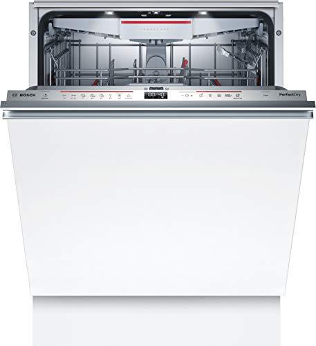 Bosch SMV6ZCX49E Serie 6 Geschirrspüler Vollintegriert / C / 60 cm / 75 kWh/100 Zyklen / 14 MGD / SuperSilence / EmotionLight / VarioSchublade / Home Connect
