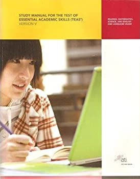 Paperback Study Manual for the Test of Essential Academic Skills Book