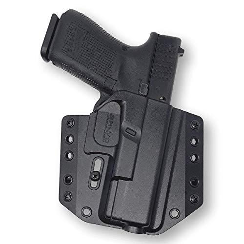 Bravo Concealment OWB Gun Holster - BCA 3.0 for S&W M&P M2.0 9,40 (4'-4.25')